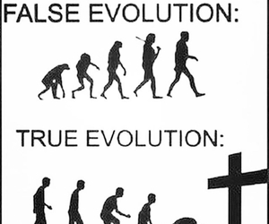 evolution, jesus christ, and stay strong image