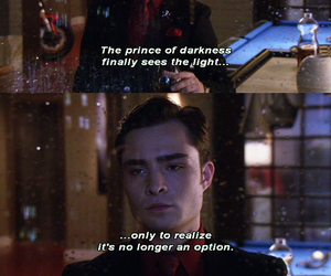 chuck bass, gossip girl, and gg image