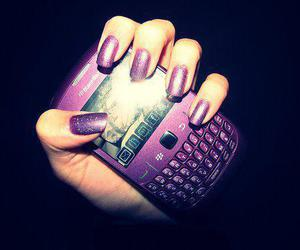 purple, blackberry, and girl image