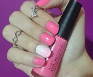 nails, pink, and sweet image