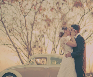 beetle, car, and couple image