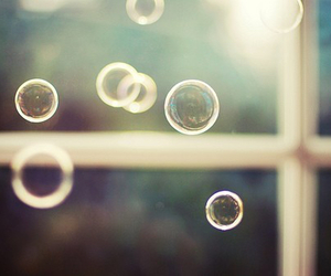 bubbles, photography, and window image