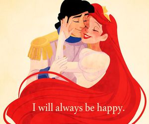 disney, ariel, and love image