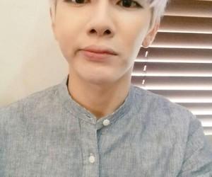 kpop, purple hair, and boy image