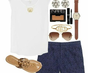 clothes, outfits, and preppy image