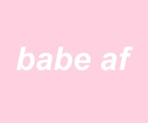 header, pink, and babe image
