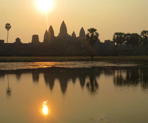 airplane, airport, and Cambodia image