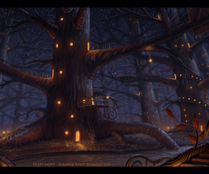 art, deviantart, and by industrial-forest image