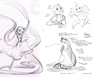 disney, drawings, and tangled image
