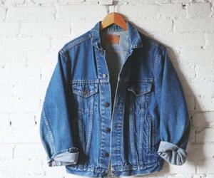 fashion, jacket, and denim image