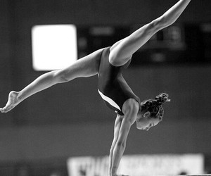 gymnastics, beautiful, and gymnast image