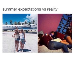 summer, funny, and reality image