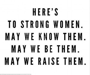 quote, strong, and women image