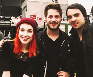 paramore, hayley williams, and you me at six image