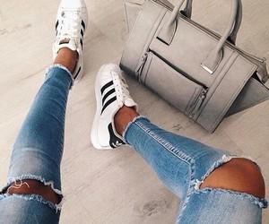 adidas, fashion, and bag image