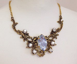 jewelry, necklace, and fantasy jewelry image
