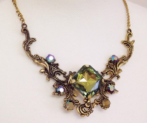 jewelry, fantasy jewelry, and necklace image