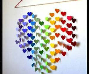 heart, diy, and hearts image