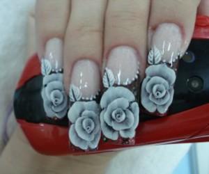 nails rose image