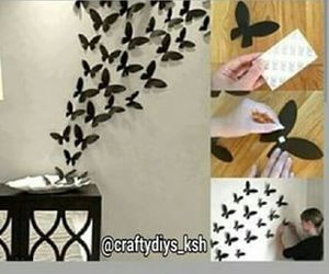 butterfly, diy, and tutorial image