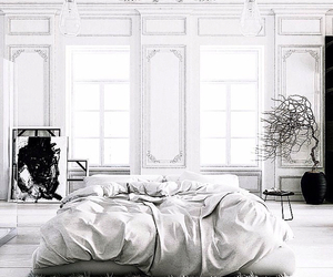 beautiful, bed, and interior image