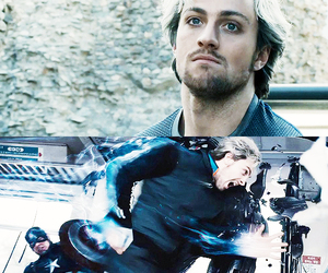 Marvel, quicksilver, and aaron taylor-johnson image