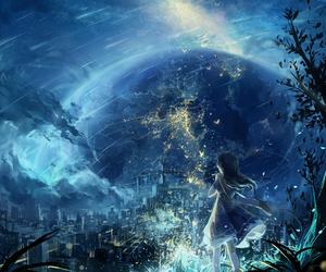 fantasy, anime, and anime girl image