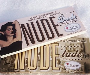 Nude, stuff, and make-up image