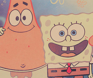 friends, spongebob, and patrick image