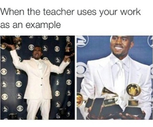 funny, school, and example image