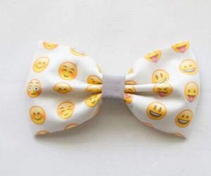 emoji, accessories, and bow image