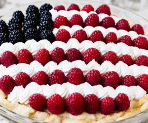 flag, food, and pie image