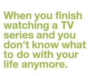 quote, life, and tv image