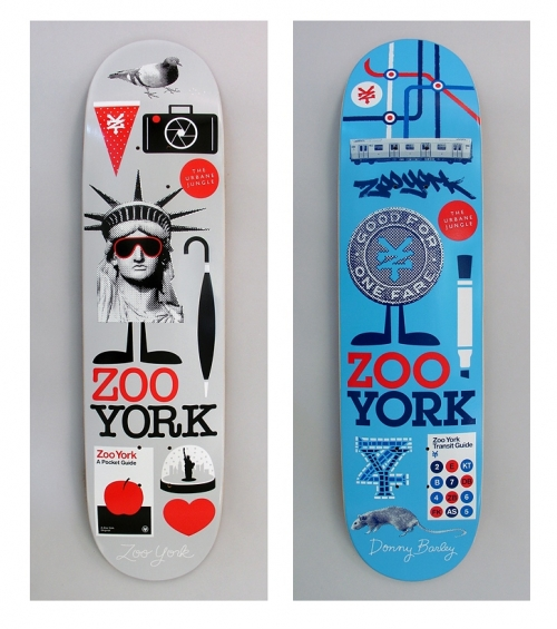 graphic, skate, and Zoo York image