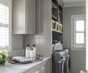 decor, interior, and laundry image