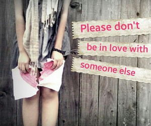 broken heart, girl, and someone else image