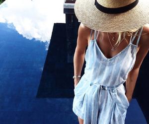 fashion, summer, and girl image