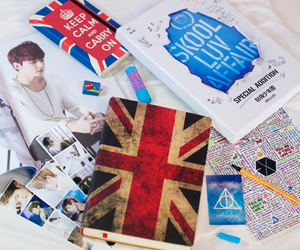 britain, diary, and doodle image