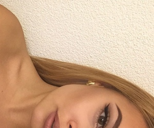 contour, eyeliner, and Nude image