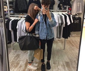 couple, grunge, and boy image
