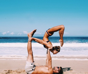 couple, love, and yoga image