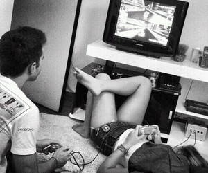boy, playstation, and reallove image