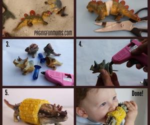 dinosaur and diy image