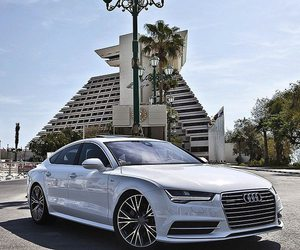 audi, car, and classy image