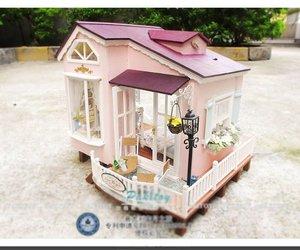 dollhouse, dream house, and lindo image