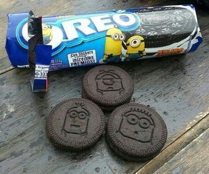 oreo, minions, and food image