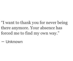 quote, love, and absence image