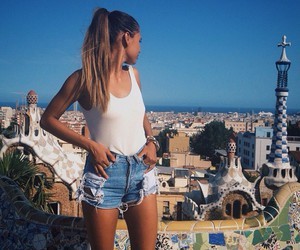 city, style, and summer image