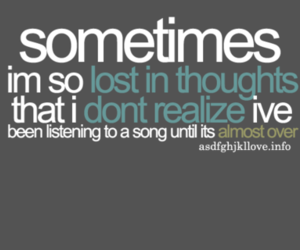 song, thoughts, and music image