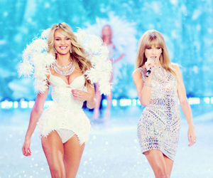 Taylor Swift, Victoria's Secret, and candice swanepoel image